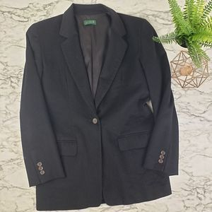 J. Crew Size 4 Wool Long Blazer